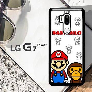Baby Milo And Mario W4812 LG G7 ThinQ Case