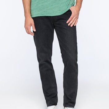 Levi's 501 Ct Durward Mens Tapered Jeans Black  In Sizes