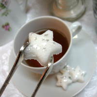 Little Twinkle Star Shaped Sugar Cubes with Edible Glitter Stars 6 Dozen