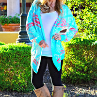 COTTON CANDY CARDI