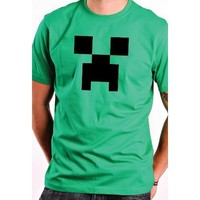 CREEPER from Minecraft inspired T-Shirt YOUTH Large SHIRT