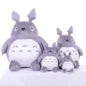 DCCKL3Z CXZYKING 20/30CM Cartoon Stuffed My Neighbor Totoro Plush Toys Gifts Toys For Children Soft Toy For Kids Gift Animation Doll Toy