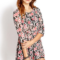 Sweet Floral Smock Tunic