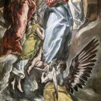 Assumption Of The Virgin by El Greco