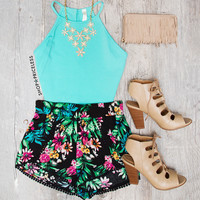 Holland Crop Top in Mint
