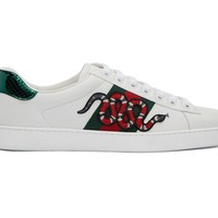 Indie Designs New Ace Snake Lace-Up Sneakers