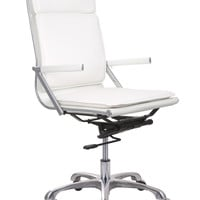 Lider Plus High Back Office Chair White
