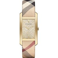 Burberry BU9407 25mm Stainless Steel Case Leather Women's Watch