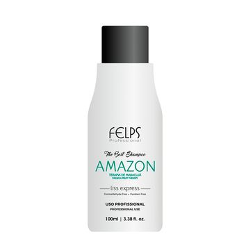 FELPS AMAZON HAIR STRAIGHTENER SHAMPOO 100ml/3.8fl.Oz.