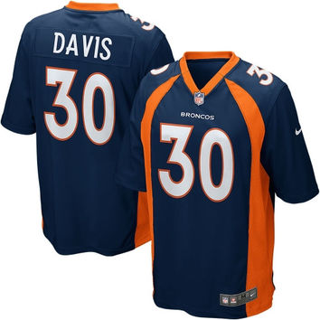 Terrell Davis Denver Broncos Nike Retired Player Game Jersey – Navy Blue