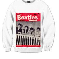 THE BEATLES SWEATSHIRT BEATLES CHRISTMAS SHIRT THE BEATLES MUSIC HIPPY CLOTHES CLASSIC PICS COOL BANDS BAND MERCH