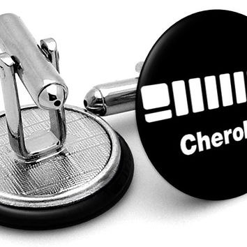 Jeep Cherokee Cufflinks
