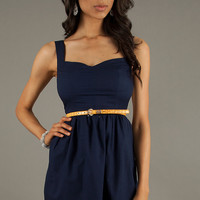 Short Casual Sleeveless Dress