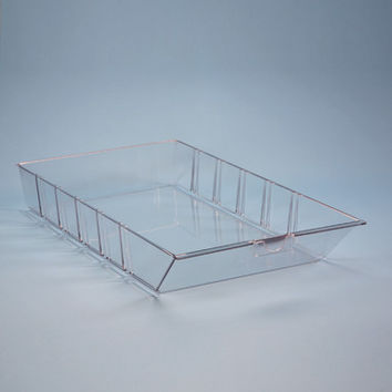 Health Care Logistics Clear Bin for Omnicell Shelf Zones Large 11x3x21
