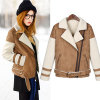 Women's Fashion Coat Cotton Jacket [9272983364]