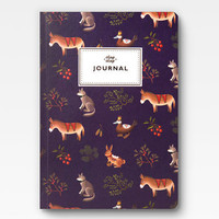 Farm Animals Journal - Purple -