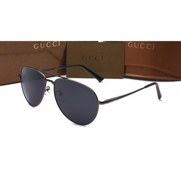 Gucci Women Casual Sun Shades Eyeglasses Glasses Sunglasses Black G