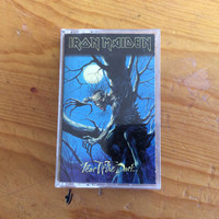 Vintage Iron Maiden, Fear of The Dark, 1992, Cassette Tape, Metal, Rock, Vintage 90s Music