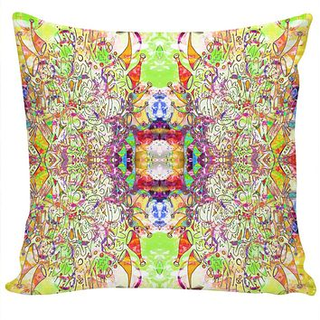 ROCP Gold Green Luv Couch Pillow
