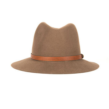 Rag & Bone - Floppy Brim Fedora in Pecan
