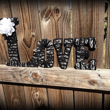 LOVE Decor-Decorative Love Letter Set by Tightly Wound Designs