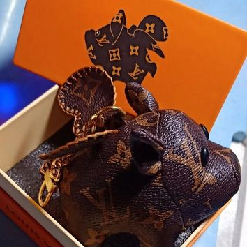 Louis Vuitton LV Cute Pig Charm And Key Holder