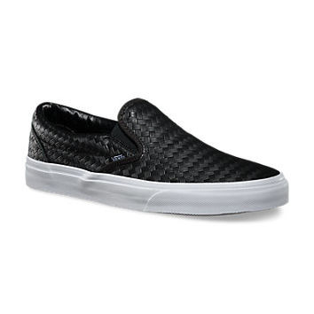 Emboss Weave Slip-On | Shop Classic Shoes at Vans