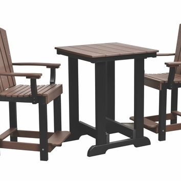 "Wildridge Outdoor Heritage Patio Set - Table Height 36"" Seat Height 23.5""  - Ships in 10-14 Business Days"