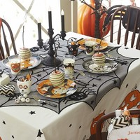 Pumpkin Tablecloth | Pottery Barn Kids