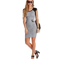 Promo- Gray Raglan Midi Dress