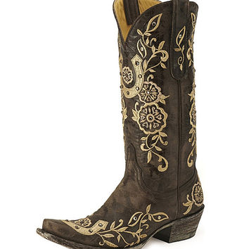 Old Gringo Lucky L515-4 Chocolate Western Boots