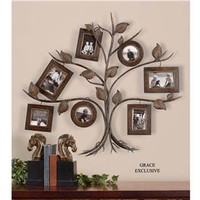 Uttermost Company Accessories Rustic Tree, Photo Collage Wall Decor 13722 - Talsma Furniture - Hudsonville, Holland and Byron Center, MI