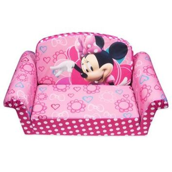 Spin Master™ Marshmallow Disney® Minnie's Bow-Tique Flip-Open Sofa