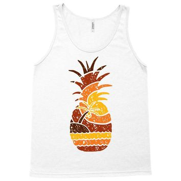 pineapple and beach Tank Top