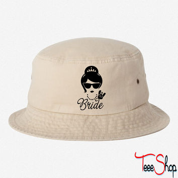 Bride Wedding Marriage Stag do Hen night party bucket hat