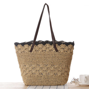 Simple Design One Shoulder Beach Bags [6580752775]