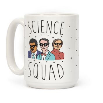 SCIENCE SQUAD MUG