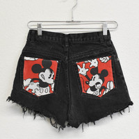 Classic Mickey Reworked Shorts