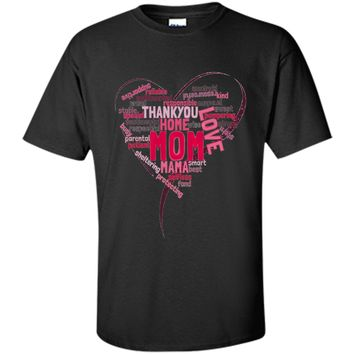 Mother's day tshirt word cloud  - mother's day