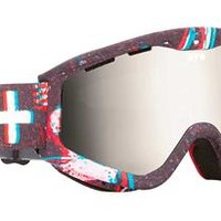 Snowboard Goggles - Spy Targa 3 - Shake Rattle and Roll / Bronze with Silver Mirror
