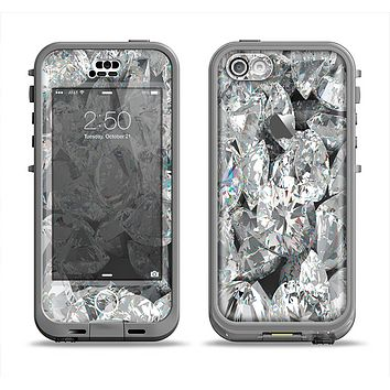 The Scattered Diamonds Apple iPhone 5c LifeProof Nuud Case Skin Set