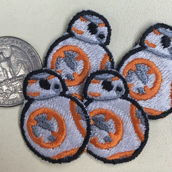 Mini BB-8 Patches