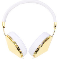 Frends Headphones Headphone Taylor in Gold & White