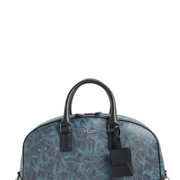 Men's Ted Baker London 'Zigsta' Duffel Bag - Black