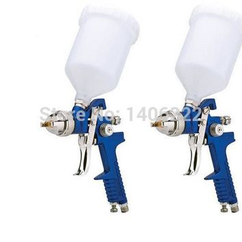 Mini HVLP Air Spray Gun 1.4mm or  1.7mm Furniture/Wood Automotive Primer Paint Sprayer Spray Gun