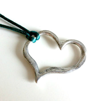 Perfectly Imperfect Heart Necklace