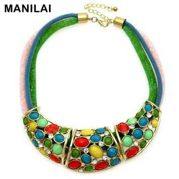 3 Net Candy Beads Chains Multicolor Necklaces