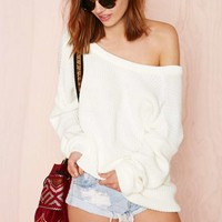 Nasty Gal Drop It Sweater