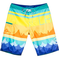 LRG Seasoned Board Short - Men's Blue,