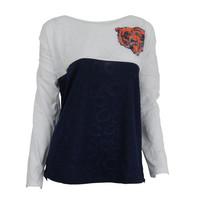 Chicago Bears Cameo Burnout Long Sleeve